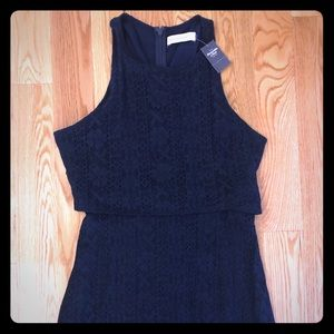 Navy Abercrombie and Fitch dress